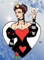 The Queen of Hearts by CrimsonArtz