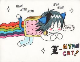 L NYAN CAT by NekoLolipop