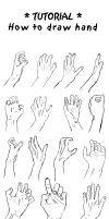 Tutorial - hand 1 by ShiStock