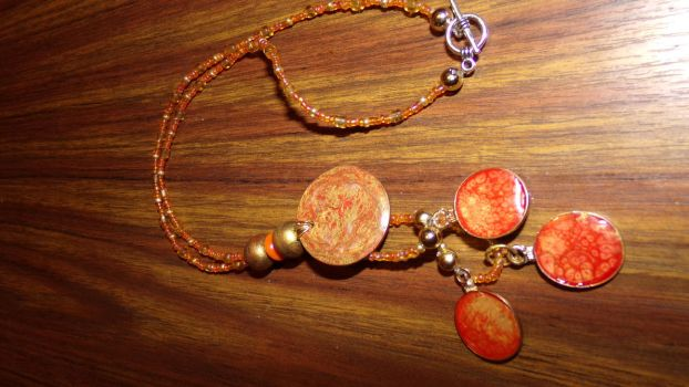 Lava necklace by Sandy-reaper