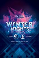 Winter Nights Flyer by styleWish