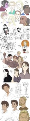 Sketchdump by M-I-D-S