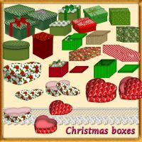 Christmas boxes by roula33