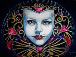 Queen of Hearts Mask by artwoman3571