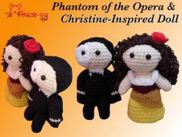 Phantom of the Opera and Christine by Amaze-ingHats