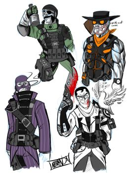 DeathRage: TF2 Outfits by DeathRage22