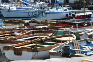 Boats in Naples by Marianna60