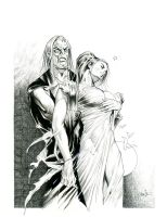 The Monster's Bride Swoons by MichaelBair