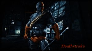 Deathstroke (Judas Contract) Wallpaper by BatmanInc