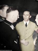 Joseph Paul Goebbels. (in colour) 30 by Julia-Koterias