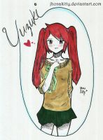 Art Trade- Yuzuki by jhonakitty