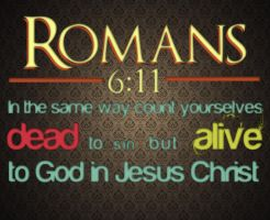 Romans 6:11 by Blugi
