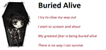 Buried Alive by demonrobber