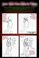 Guide to draw Shadow the hedge by lu-raziel