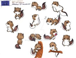Kunchi Character Ref by Porcubird