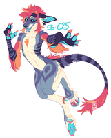 Anthro Vernid AUCTION! by LiLaiRa