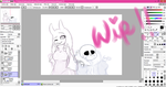 WIP! -You're so Funny(? - by adventurepainter18