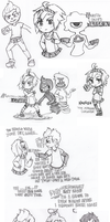 Pencil Doodle Dump by Cappuccino-King
