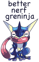 Better Nerf Greninja by ShingaiShima
