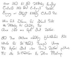 September 2014 Conlang Challenge by Irolan