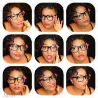 Mini Faces of me by MzChrisCreatez