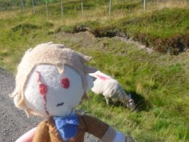 Faroe and the Sheep by TheClockworkKid