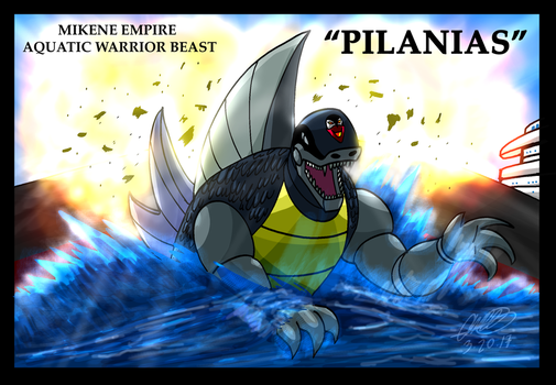 Mazinger series Mikene Empire - Pilanias by GearGades