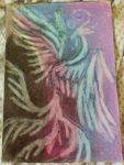 Oil Pastels: Ghost bird by kxeron