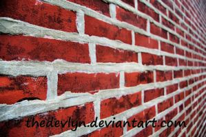 Brick Wall 1 by TheDevlyn