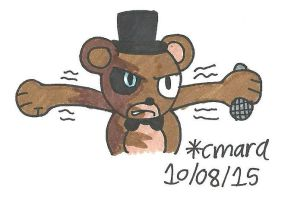 You made Freddy angry... by cmara