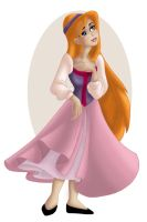 + GISELLE as EILONWY + by Opal-I