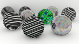 Spheres by peterbru