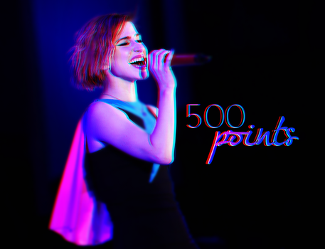 500 Points by AHTZIRIDIRECTIONER