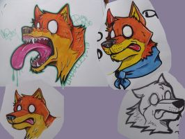 Dumb Dingo 13' by Dingo4graff