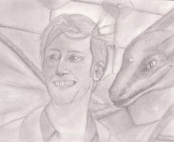 Tennant and Dragon by Lollipopdunce