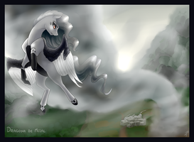 Mistress of the wild winds (Commission) by DragonaDeMetal