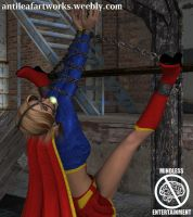 Supergirl Suspended by Antileaf-Artworks