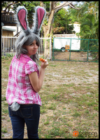 Carrot Farmer Judy Back on the Farm (Cosplay) by KrazyKari
