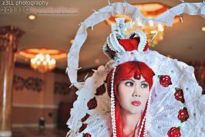 Trinity Blood - Queen by marizreyes