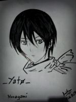 Noragami Yato drawing by keichan77