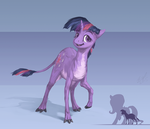 Twilight Eohippus by AssasinMonkey