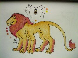 Cyclops Lion Adopt (CLOSED) by SiloBaby