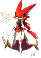 Ameira the fox by nancher