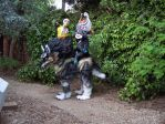 Midna wolf cosplay OLD WORK by LilleahWest