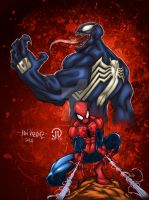 Spidey and Venom no text by JoeyVazquez