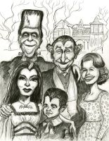 The Munsters by Caricature80