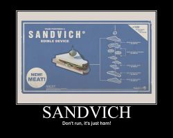 Meet the Sandvich by WilliamJBoone