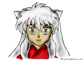 InuYasha Lineart 1 by Simply-Dreams