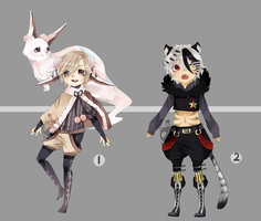 Adopts::Forest Kimonomimi closed by Pandastrophic