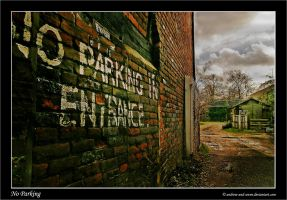 No Parking by Andrew-and-Seven